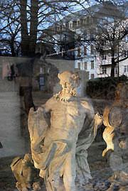 Lapidarium im Schloßbergpark
